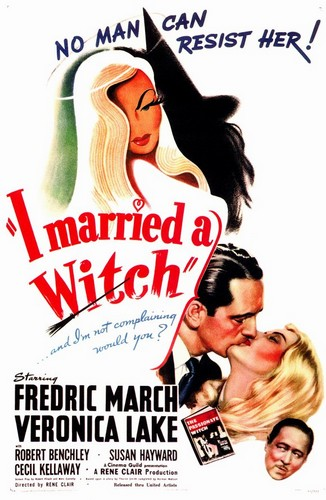 I MARRIED A WITCH FILM POSTER 3