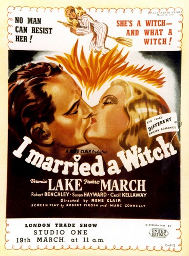 I MARRIED A WITCH FILM POSTER 6