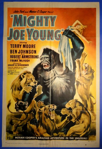 MIGHTY JOE YOUNG FILM POSTER 2