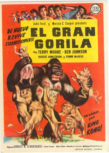 MIGHTY JOE YOUNG FILM POSTER 6