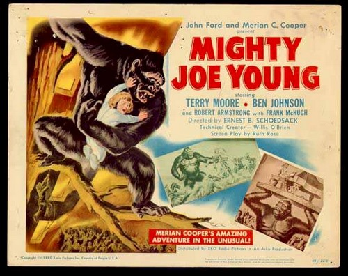 MIGHTY JOE YOUNG LOBBY CARD 1
