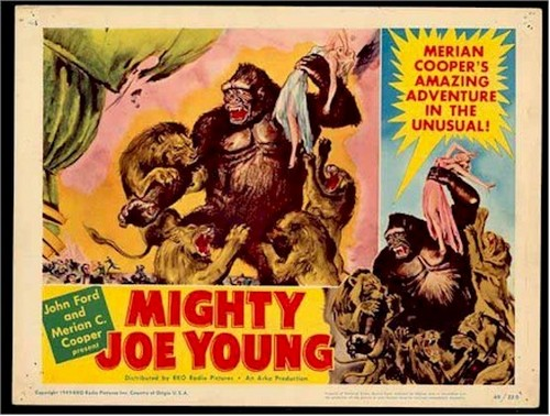 MIGHTY JOE YOUNG LOBBY CARD 2
