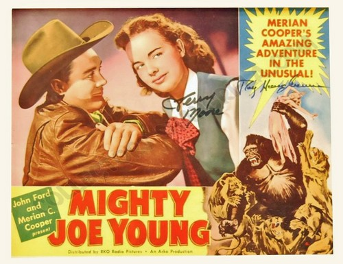 MIGHTY JOE YOUNG LOBBY CARD 4
