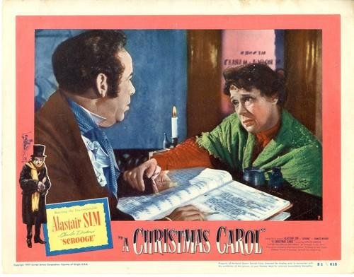 SCROOGE LOBBY CARD 1