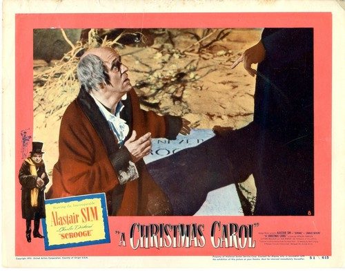 SCROOGE LOBBY CARD 2