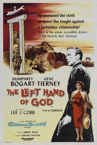 THE LEFT HAND OF GOD FILM POSTER 2