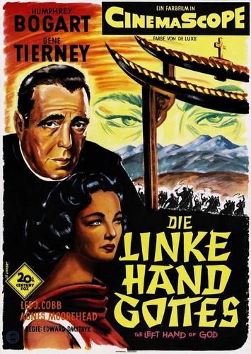 THE LEFT HAND OF GOD FILM POSTER 6