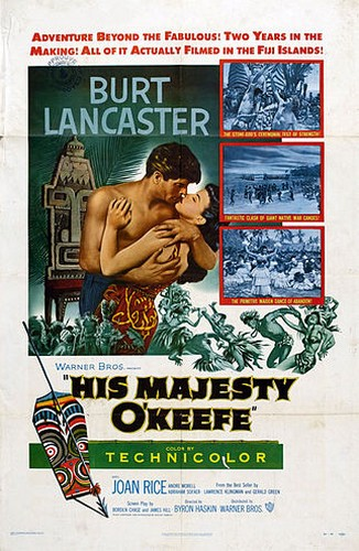 HIS MAJESTY O`KEEFE FILM POSTER 3