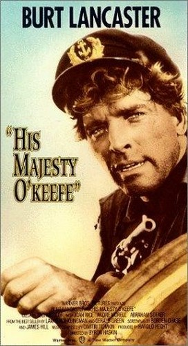 HIS MAJESTY O`KEEFE FILM POSTER 4