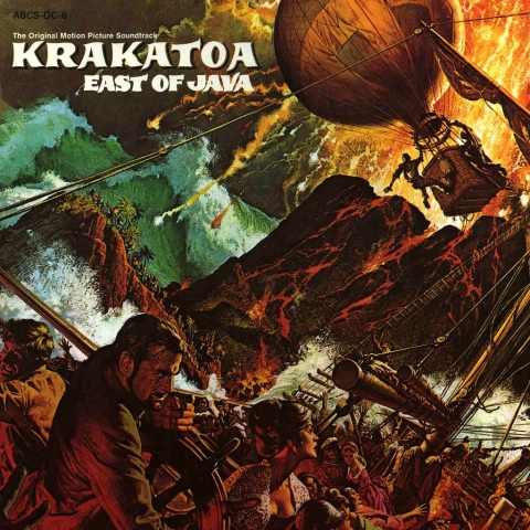 KRAKATOA EAST OF JAWA LP COVER