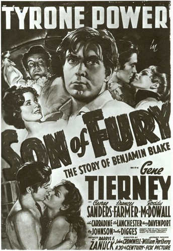 SON OF FURY FILM POSTER 1