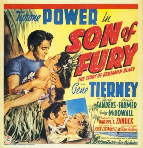 SON OF FURY FILM POSTER 2