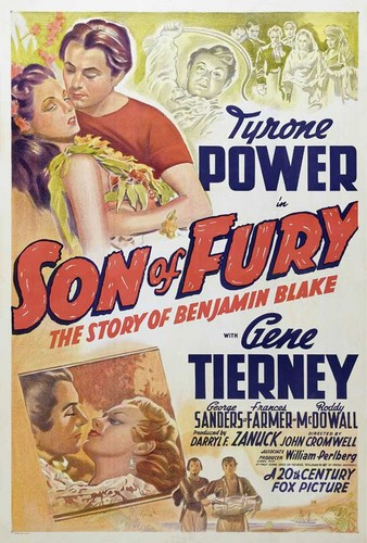 SON OF FURY FILM POSTER 3