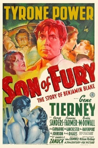 SON OF FURY FILM POSTER 5