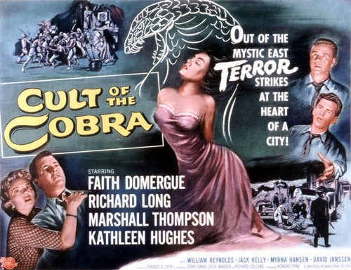THE CULT OF COBRA FILM POSTER 2