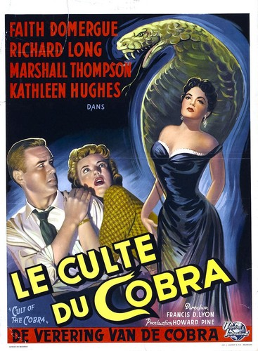 THE CULT OF COBRA FILM POSTER 3