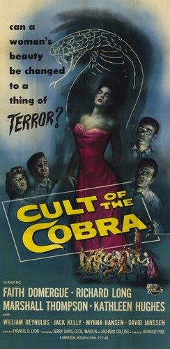 THE CULT OF COBRA FILM POSTER 7