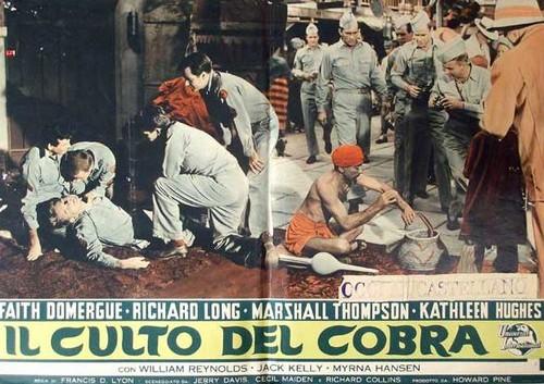THE CULT OF COBRA FILM POSTER 8