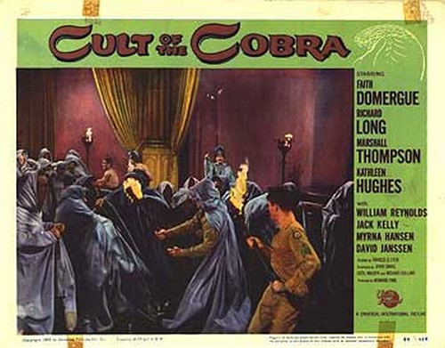 THE CULT OF COBRA LOBBY CARD 1