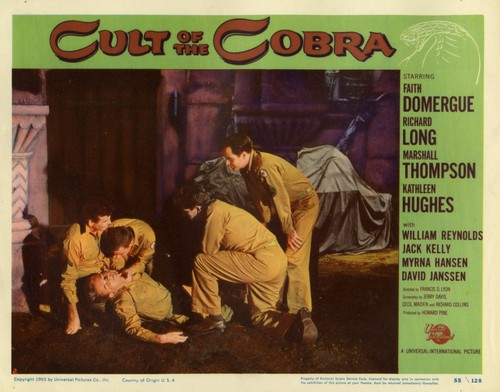 THE CULT OF COBRA LOBBY CARD 6