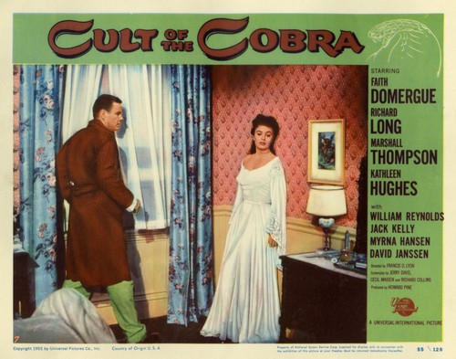 THE CULT OF COBRA LOBBY CARD 8