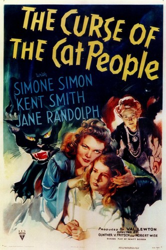 THE CURSE OF THE CAT PEOPLE FILM POSTER 1