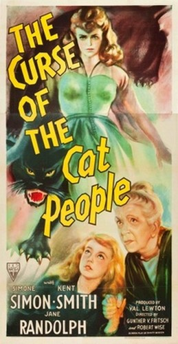 THE CURSE OF THE CAT PEOPLE FILM POSTER 4
