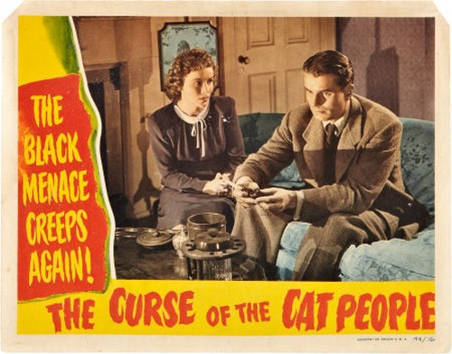 THE CURSE OF THE CAT PEOPLE FILM POSTER 5