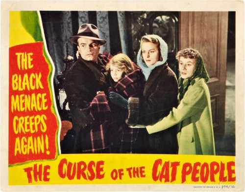 THE CURSE OF THE CAT PEOPLE FILM POSTER 6