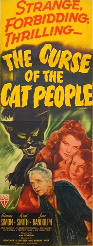 THE CURSE OF THE CAT PEOPLE FILM POSTER 7