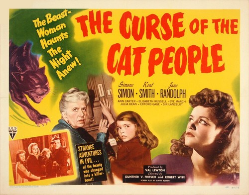 THE CURSE OF THE CAT PEOPLE FILM POSTER 8