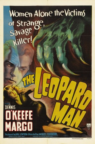 THE LEOPARD MAN FILM POSTER 1