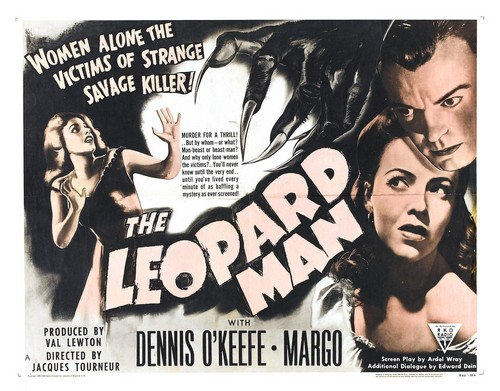 THE LEOPARD MAN FILM POSTER 3
