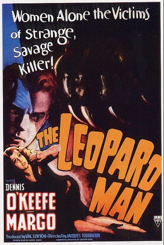 THE LEOPARD MAN FILM POSTER 6