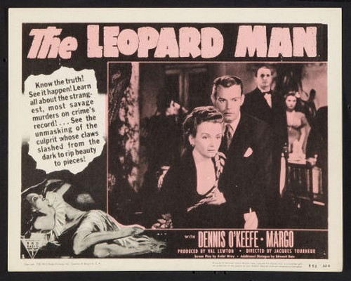 THE LEOPARD MAN FILM POSTER 8