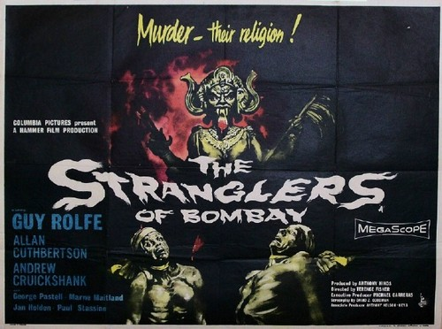 THE STRANGLERS OF BOMBAY FILM POSTER 1