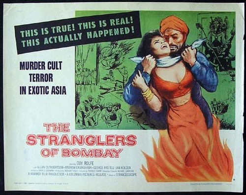 THE STRANGLERS OF BOMBAY FILM POSTER 2