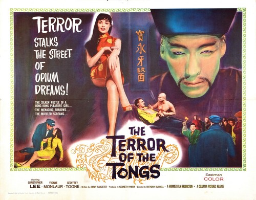 THE TERROR OF THE TONGS FILM POSTER 1