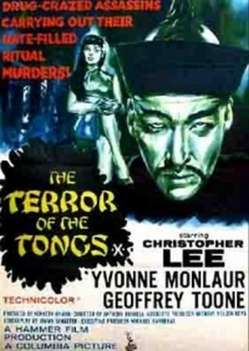 THE TERROR OF THE TONGS FILM POSTER 5