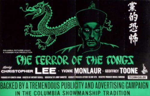 THE TERROR OF THE TONGS FILM POSTER 6