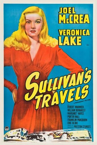 SULLIVANS TRAVELS FILM POSTER 2
