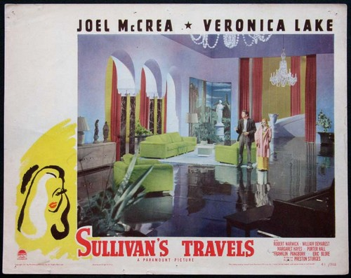 SULLIVANS TRAVELS LOBBY CARD 2