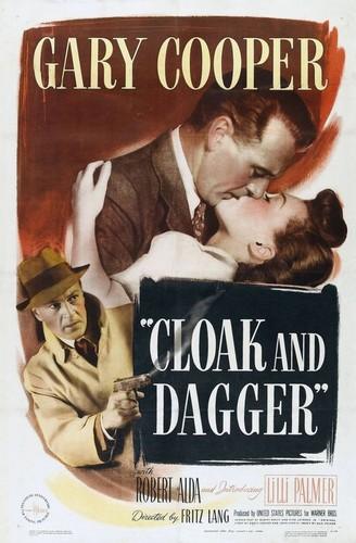 CLOAK & DAGGER FILM POSTER 1