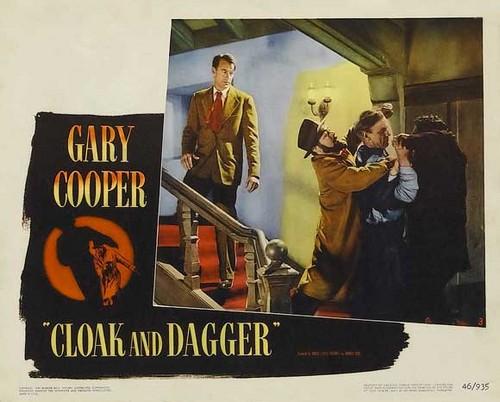 CLOAK & DAGGER FILM POSTER 12