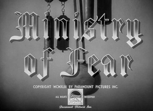 MINISTRY OF FEAR (1)