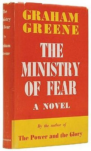 MINISTRY OF FEAR BOOK COVER