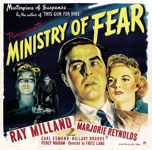 MINISTRY OF FEAR FILM POSTER 1