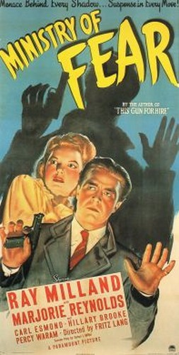 MINISTRY OF FEAR FILM POSTER 3
