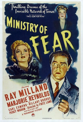 MINISTRY OF FEAR FILM POSTER 5