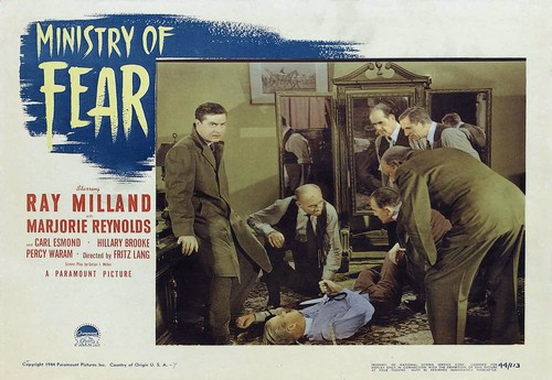 MINISTRY OF FEAR LOBBY CARD 1